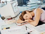 Slapen op het werk en toch afslanken