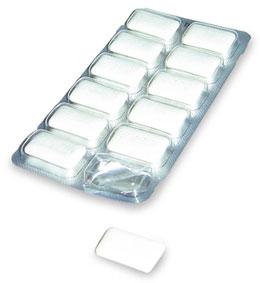 Afslank kauwgom
